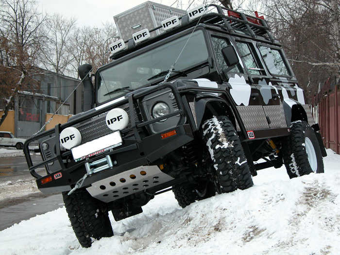 Land Rover тюнинг