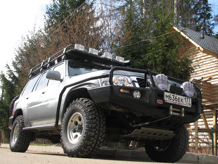 nissan safari бампер arb