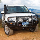 Deluxe Winch Bar Land Rover Discovery 4