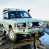 Deluxe Winch Bar Land Rover Discovery II late
