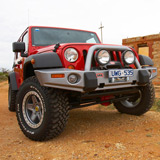 Deluxe Winch Bar Jeep Wrangler JK