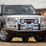 Deluxe Winch Bar Land Rover Discovery 3