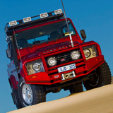 Deluxe Winch Bar Land Rover Defender Modern Style