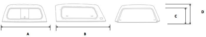 Кунг ARB Classic Canopy на Toyota Hilux SR52015+ Dual Cab Utilities
