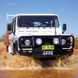 Deluxe Winch Bar Land Rover Defender no A/C