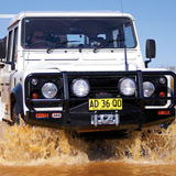 Deluxe Winch Bar Land Rover Defender A/C