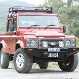 Winch Bar Land Rover Defender Sahara Style